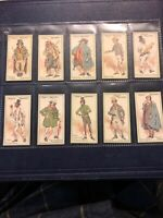 CIGARETTE CARDS. John Player Tobacco. CHARACTERS FROM DICKENS.(Set of 50).(1923)