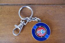 Nfl Super Bowl Xl 40th Anniversary Collector Football keyring Detroit