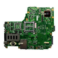 For ASUS N61J N61JV Laptop Motherboard S989 REV 2.0 Mainboard HM55 60-NYKMB1200