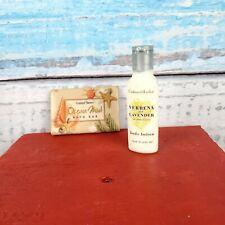 Coastal Shore Ocean Mist Bath Bar & Crabtree & Evelyn Body Lotion USA Seller
