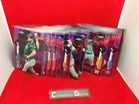 2020 TOPPS CHROME PINK REFRACTOR - CHOOSE / PICK CARD COMPLETE SET #1-200