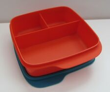 Tupperware Clevere Pause, Lunchbox, Sandwichbox, Brotdose, Box mit Trennwand