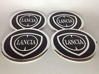 LANCIA 4 x 60mm Alu Emblem Felgen Aufkleber Logo Nabendeckel Nabenkappen