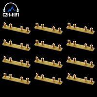 12pcs EIZZ 4posts Turret Board Lug Tag Strip for Vintage Audio Amplifier DIY