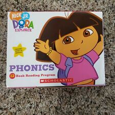 Brand New Sealed Nick Jr. DORA the Explorer Phonics 12 Books Program Scholastic