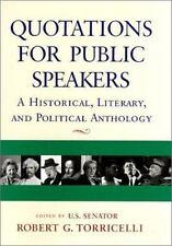 Quotations For Public Speakers