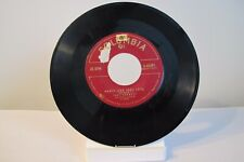"45 RECORD 7"" - TONY BENNETT - PUNCH AND JUDY LOVE"