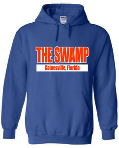 "Florida Gators ""THE SWAMP""  jersey shirt Hooded SWEATSHIRT"