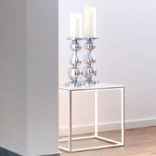 Bodenleuchte Delux LED 12W Würfel mit Glasplatte Beistelltisch beleuchtet Tisch