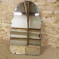 Vintage Art Deco Style Mirror 1950s Mid Century Modern with Original Sales Tag
