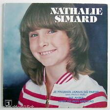 UN DISQUE 33 TOURS, NATHALIE SIMARD
