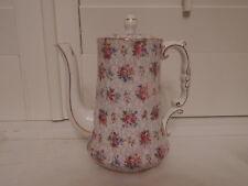 Gorgeous Vintage Hammersley Chintz Coffee Pot/Teapot Pink Roses