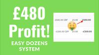 ROULETTE SYSTEM - Safe Easy Roulette Dozens Strategy | £480 Profit!