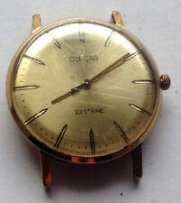 CORSAR 23 steine cal. 2209 - POLJOT DE LUXE - rare vintage USSR Uhren