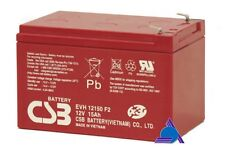 BATTERIA CSB EVH12150 12V 15Ah