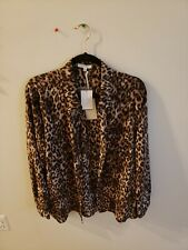 Pleione Women's Leopard Print, Size XL, Polyester Material, New