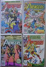 Avengers #211-214 Marvel Comics (4) Comic Run 1981 Avg VF Hawkeye Thor Vision +