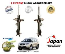 FOR HYUNDAI SANTA FE 2006-->NEW 2x FRONT RIGHT + LEFT SHOCK ABSORBER SHOCKER SET