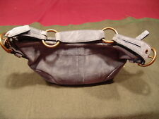 COACH BLUE SUEDE PURSE (HOBO STYLE BAG) *** NEW *** NEW***