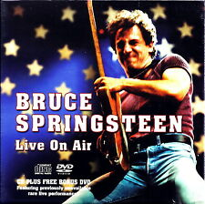 BRUCE SPRINGSTEEN - Live On Air (Live Rarities USA 1975) BOX CD+DVD IMPORT RARE