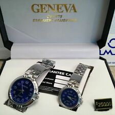 HIS & HERS Classy matching Watches for the Gent and the Lady a pair by Geneva