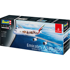 Revell Airbus A380-800 United For Wildlife Passenger Plane Model Kit - 03882