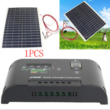 30W 12V Flexible Semi Solar Panel w/12V/24V Solar Controller For Car SUV RV Boat