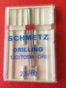 """Schmetz """"Drilling"""" Triple Needle 130/705 H DRI 2.5/80"""