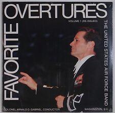 UNITED STATES AIR FORCE BAND: Overtures, Volume 1 SEALED Gabriel Vinyl LP