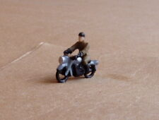 P&D Marsh N Gauge n Scale X75 1950's Motorcycle and rider Painted & finished