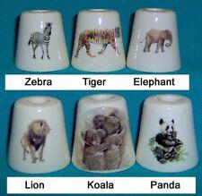 3 Lion Tiger Panda Koala Zebra Lion Elephant Cigarette Snuffers 180 Designs