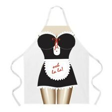 French Maid - Ooh la la Flirty Lace Funny BBQ Party Apron For Women