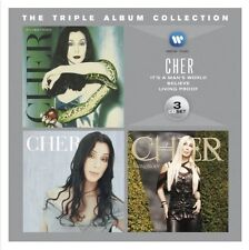 CHER The Triple Album Collection It's A Man's World/Believe/Living Proof 3CD NEW
