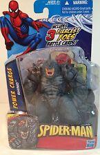 "2009 Hasbro Marvel Comics Spiderman Battle Cards 4'"" ~ RHINO POWER CHARGE"