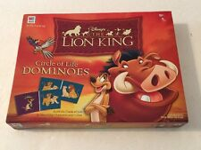 The Lion King - Circle of Life Dominoes by Milton Bradley - 1993 Ed. - Complete!