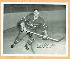 1945-54 Quaker Oats Canadiens' Dollard St. Laurent 8x10, Home Action