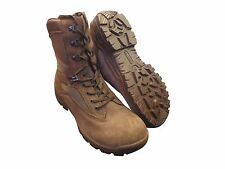 Brown YDS Falcon Desert Patrol BOOTS - British Army Military [12917] - 9M - NEW