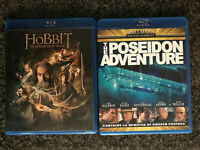DVD Lot: The Hobbit: DESOLATION of SMAUG ✰ Poseidon Adventure '08 ✰SHIPS FREE/US