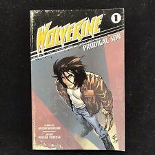 Wolverine Manga - Prodigal Son Graphic Novel 2009 Marvel Comics Johnston RARE
