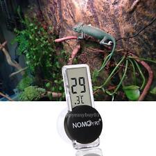 Pet Reptile Snake Vivarium Terrarium Rearing Box Thermometer Humidity Hygrometer