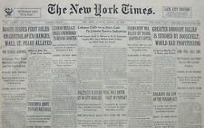 8-1934 August 14 CHURCHMEN UNITE TO FIGHT GERMAN RULE. LEHMAN CALLS STATE 81st