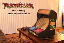 Dragon's Lair / Space Ace CUSTOM Mini bartop ARCADE GAME machine CABINET MAME