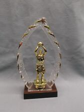 Basketball trophy male star halo