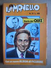 IL MONELLO n°21 1972 Cristall Pedrito Mike Bongiorno + inserto [G392]