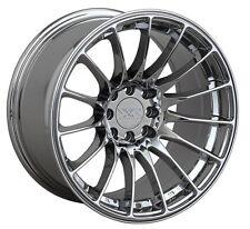 17X8.25/9.25 XXR 550 5x100/114.3 +19 Platinum Wheels Fits Ford Mustang 350Z 370Z