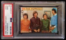 The MONKEES card 1968 Panini Cantanti #204 PSA 9 Pop 1 highest grade! RARE!