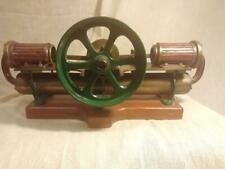 FINE ANTIQUE HORIZONTALLY OPPOSED STEAM MODEL c1920
