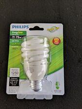 Philips SBC-EL/mdTQS 18W T2 Twist Med. Screw Base Compact Fluorescent Light Bulb