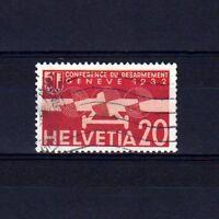 SUISSE SWITZERLAND Yvert Poste Aérienne  n° 17 oblitéré