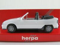 Herpa 2058 Opel Kadett E GSi Cabriolet (1987-1991) weiß 1:87/H0 NEU/OVP